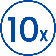 10x-azul